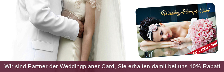 Exklusiv-Partner der Wedding Card